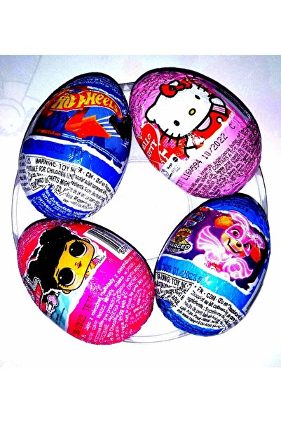 Unibon Sürpriz Yumurta 4'lü Set
