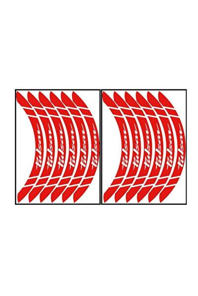 Pulsar Reflektör Kırmızı Büyük Jant Şeridi