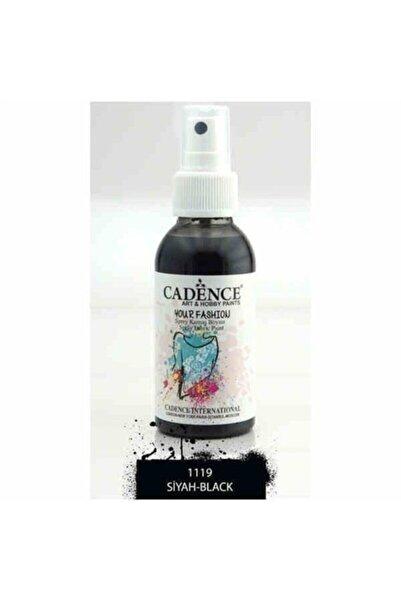 Cadence 1119 Siyah Sprey Kumaş Boyası | Craft Hobi