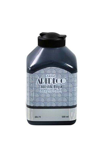 Artdeco Akrilik Boya 500ml Siyah