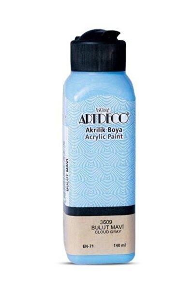 Artdeco Akrilik Boya 140 ml 3609 Bulut Mavi