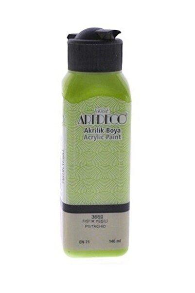 Artdeco Fıstık Yeşili Akrilik Boya 140 ml 3659
