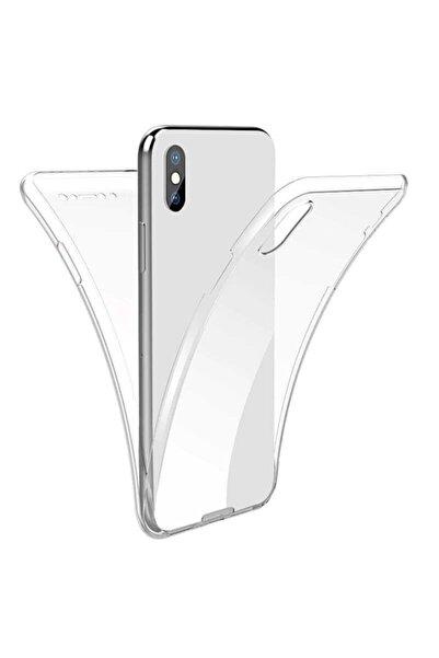 Apple Iphone Xs Max Kılıf 360 Derece Ultra Esnek Tam Kaplayan Darbe Emici Enjoy Kapak