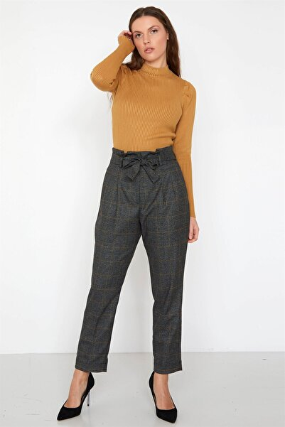 Chima Kuşaklı Pantolon