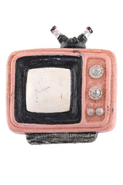 LABALABA Televizyon Pembe Renk Magnet & Buzdolabı Süsü