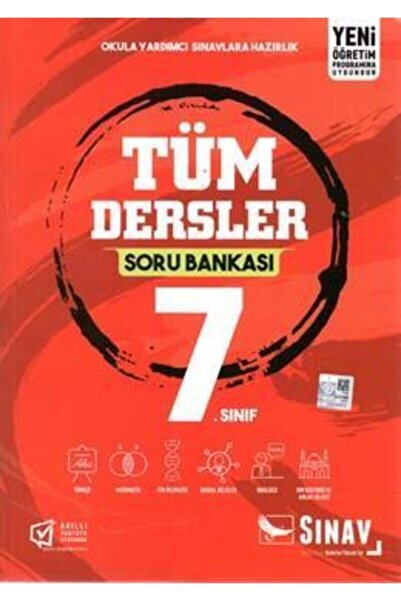 Sınav Yayınları 7.Sınıf Tüm Dersler Soru Bankası
