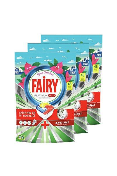 Fairy Platinum Plus 144'lü Yaza Özel Bulaşık Makinası Kapsülü (48x3)