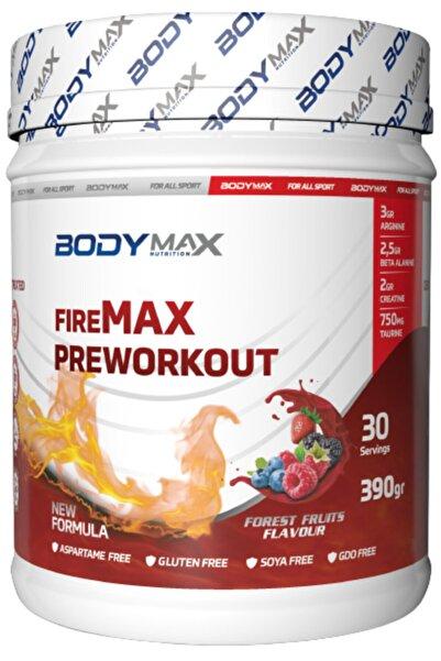 BODYMAX Firemax Preworkout 390 Gr Kırmızı Orman Meyvesi Aromalı Pre Workout