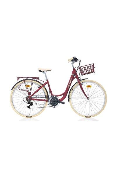 Carraro Juliet 28 Jant 21 Vites V-fren Şehir Bisikleti Kırmızı 43cm