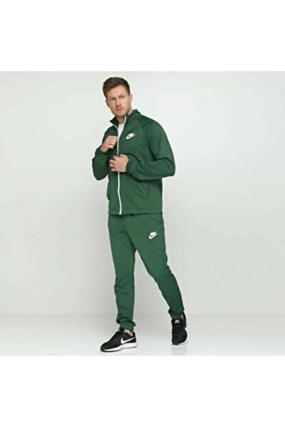 Nike Sportsweat Yeşil Eşofman Takımı Cd9239-323