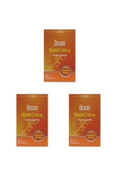 Ocean Orzax Ocean Vitamin C 1000 Mg 30 Tablet 3 Adet