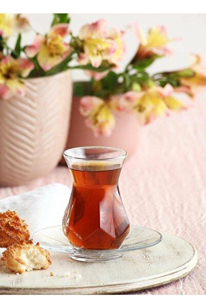 LAV Alya Çay Seti Çay Takımı - Çay Bardağı Takımı Tabağı 24 Prç. Fma05252