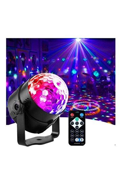 Enshall Parti Işıkları Sese Duyarlı Disko Topu , Led 2 Si 1 Rgb 7 Renk Ev Tipi Dj Ekipmanı Flaş Işığı