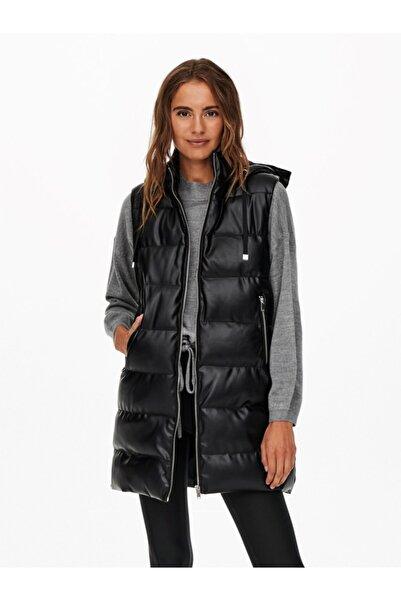 Only Onllydıa Faux Leather Waıstcoat Cs Otw 15240946
