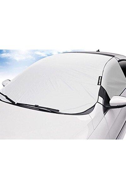 Ankaflex Araç Buz Kar Güneş Koruyucu Yarım Branda Araba Oto Kar Buz Önleyici Ön Yan Cam Koruyucu Örtü