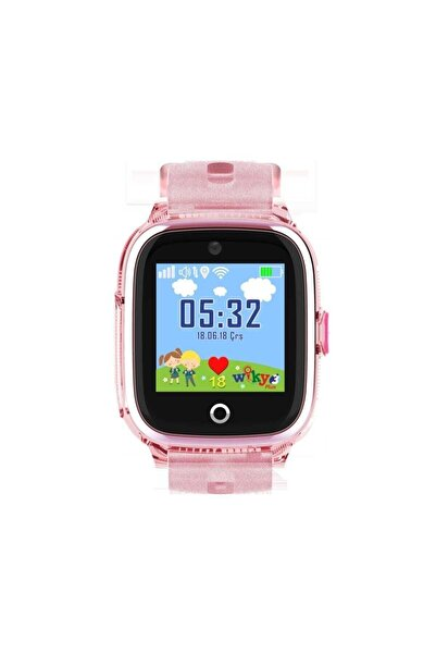 Wiky Watch 3 Plus Pembe Dokunmatik Akıllı Çocuk Saati