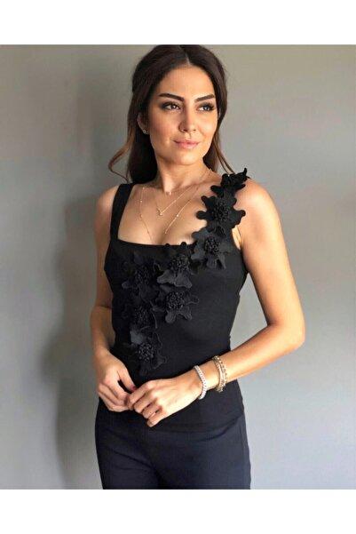 LOVEMETOO Stella Siyah Bluz