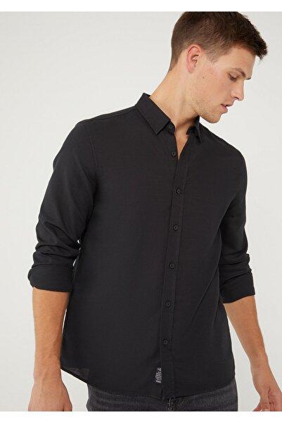 Mavi Siyah Gömlek 020579-900
