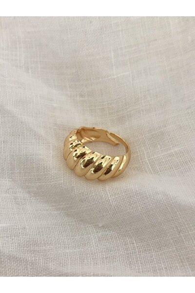 The Y Jewelry Kadın Sarı Burgu Yüzük