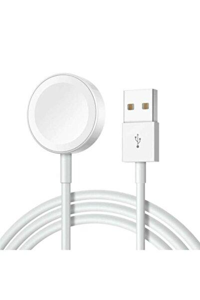 SCHTOK Apple Watch Seri 1 2 3 4 5 6 Se Uyumlu Dayanaklı Şarj Kablosu
