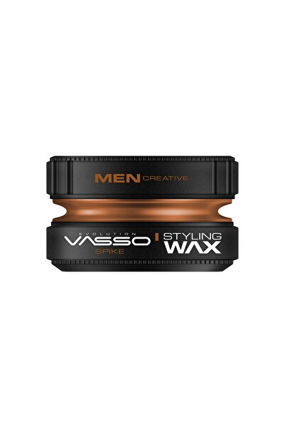 Vasso Men Ekstra Sert Tutuş Güçlü Ve Mat Görünümlü Killi Wax - Spike Pro Clay Wax 150 ml