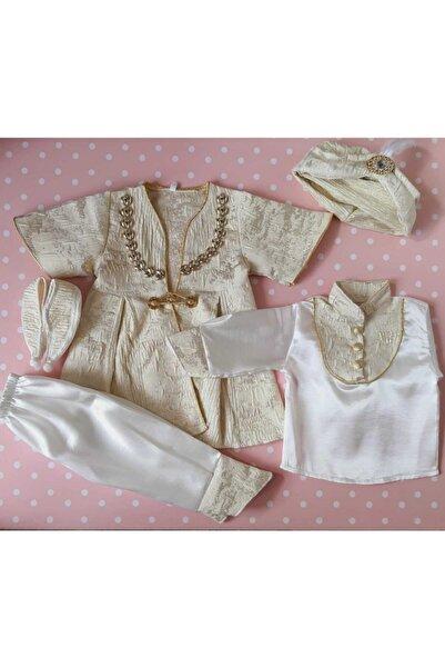 Petite Ponpon Baby Erkek Çocuk Mevlütlük Şehzade Sünnetlik Kıyafeti Erkek Çocuk Hediye
