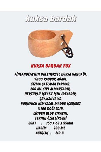 NURGAZ Fox Kuksa Bardak