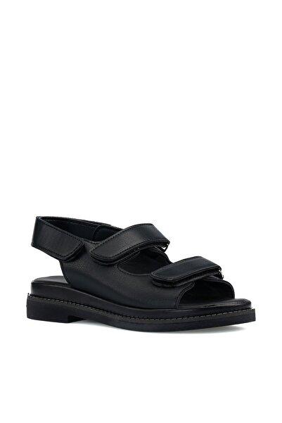 İnci Adora.z 1pr Siyah Kadın Sandalet