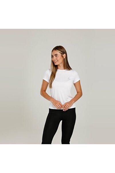 Kinetix Sn230 Basıc Pes C Neck T- Beyaz Kadın T-shirt