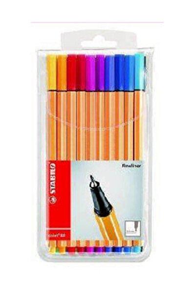 Stabilo Point 88 İnce Keçe Uçlu Kalem 20 Renk Askılı Paket