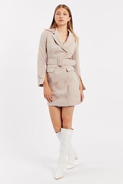 Manche Bej Kadın Ceket Elbise   Mk21w283167