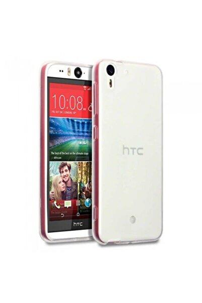 HTC Desire Eye  Uyumlu  Kılıf Ultra Ince Şeffaf Silikon Kapak