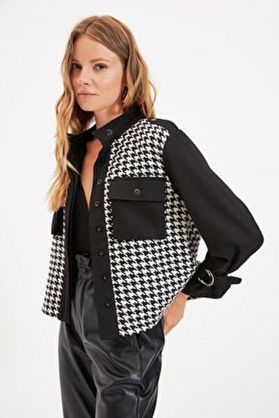 Siyah Cepli Ceket TWOAW22CE0160