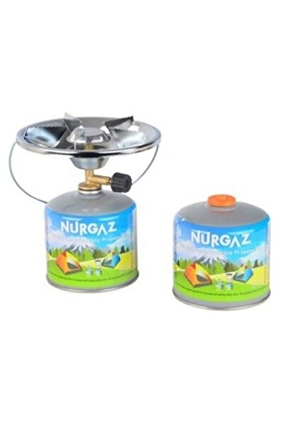 NURGAZ Kamp Ocak Kartuş Portatif Ocak Tüp 420 gr 2 Adet