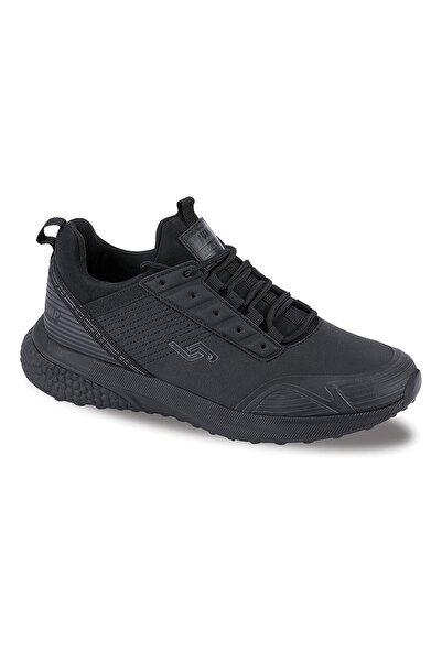 Jump 25750 Siyah Kalın Taban Bayan Spor Ayakkabı