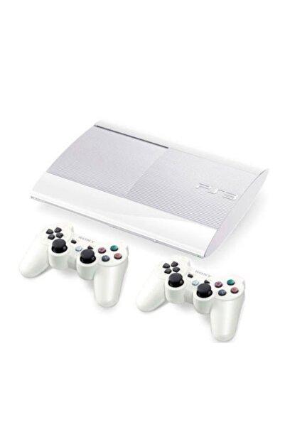 Sony Ps3 500 Gb Süperslim Beyaz 2 Adet Kol 60 Oyun 12 Ay Garanti (teşhir)