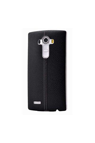 LG G4 Stylus Kılıf Ultra Ince Derili Silikon Kapak