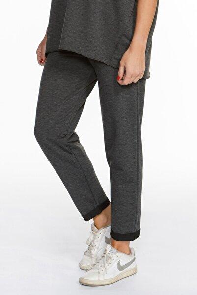 BASIC&CO Rhea Antrasit Jogger Pantolon