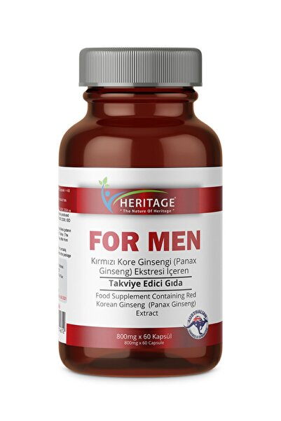 HERITAGE For Men 800 Mg * 60