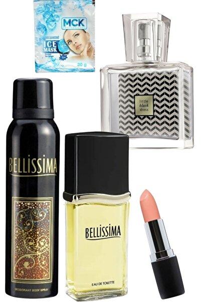 Bellissima Kadın Parfüm Seti Edt 60ml + Deo 150 Ml Korfe Set + Little Black Dress Edp 30 Ml /set4prç