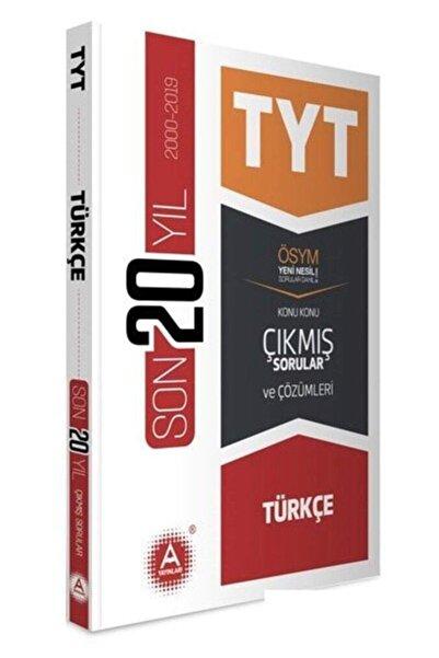 A Yayınları Kampanya - Tyt Türkçe Son 20 Yıl Konu Konu Çıkmış Sorular