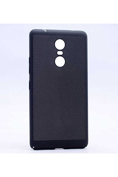 LENOVO K6 Note Kılıf Ultra Ince Mat Görünümlü Delikli Rubber Kapak