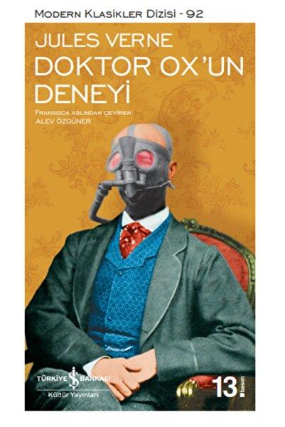 İş Bankası Kültür Yayınları Doktor Ox'un Deneyi | Jules Verne | Iş Bankası Kültür Yayınları