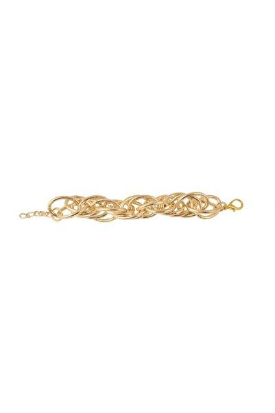 Esmer Bijuteri Altın Kaplama Zincir Bileklik