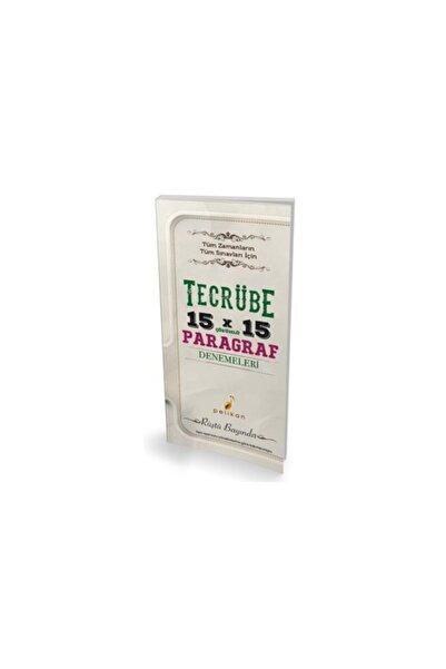 Pelikan Kitabevi Kpss Tecrübe 15x15 Çözümlü Paragraf Denemeleri
