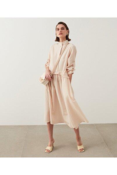 İpekyol Pötikare Desen Elbise