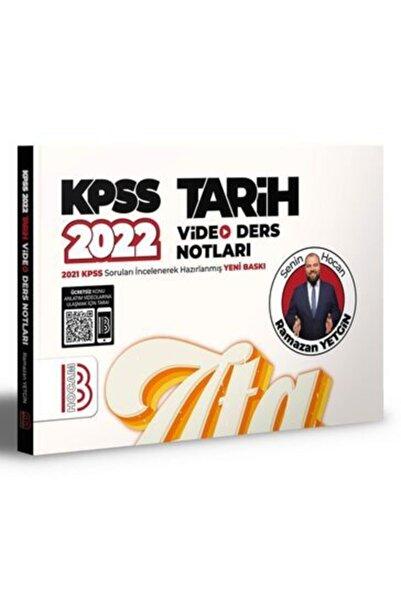 Benim Hocam Yayınları 2022 Kpss Tarih Video Ders Notları