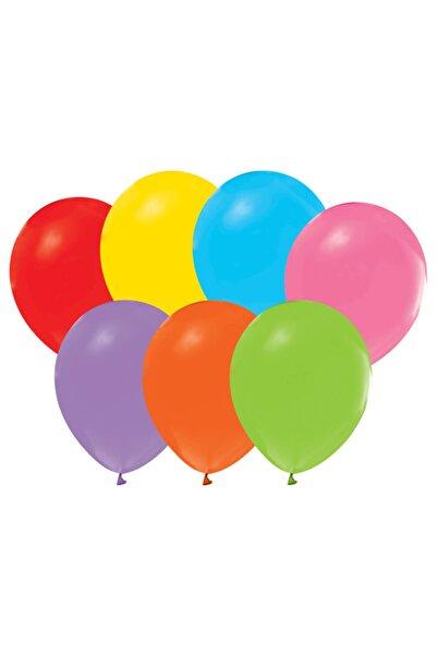RADE SHOPPİNG 20 Adet Düz Karışık Renk Balon