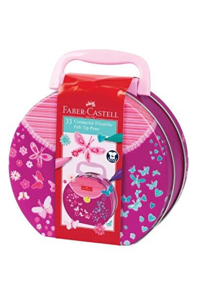 Faber Castell Eğlenceli Keçeli Kalem El Çantası 33'lü