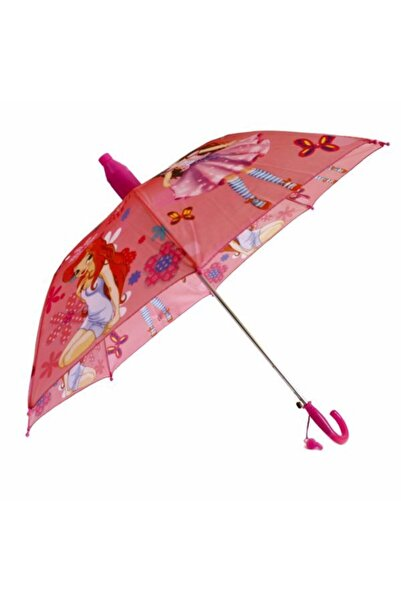 Go Bardaklı Kız Çocuk Şemsiye 8 Tel